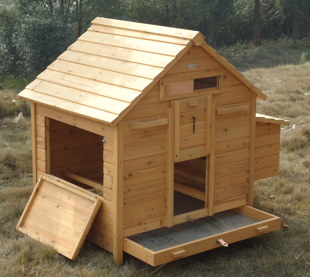 Chicken House hen house chicken coop poultry ark home nest run coup in stock | ebay